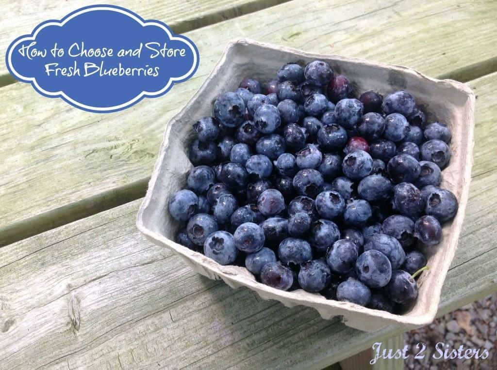 How to Choose and Store Fresh blueberries