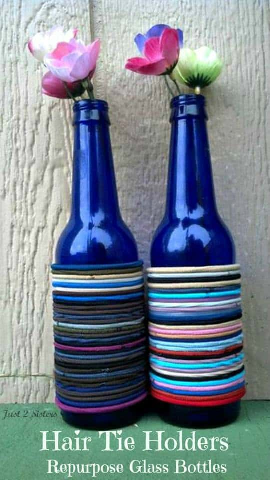 Repurpose Glass Bottles