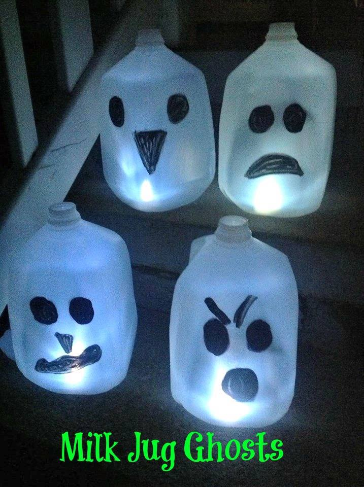 #frugal Halloween Decoration #Halloween #DIY #Repurposed