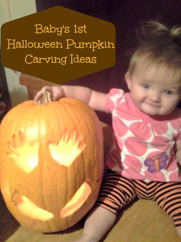Baby's 1st Halloween Pumpkin Carving Ideas