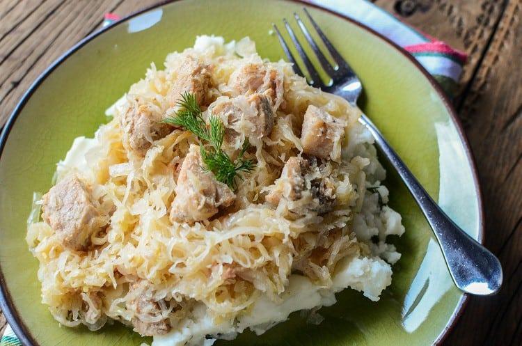 crock-pot-pork-sauerkraut