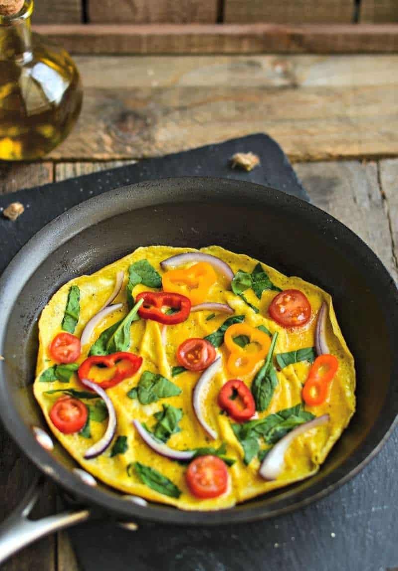 Veggie Omelet Recipe