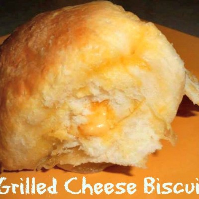 Grilled Cheese Biscuits