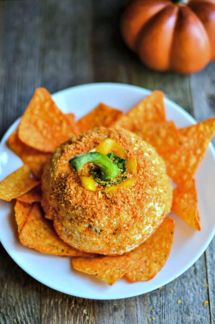 Pumpkin Cheese Ball Appetizer Recipe