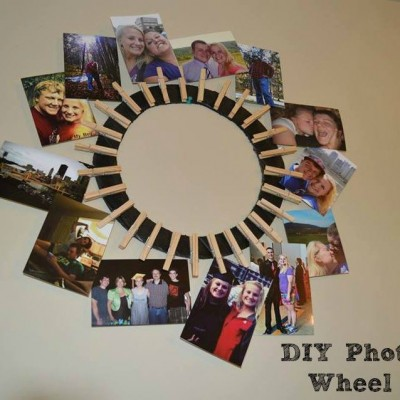 Photo Wheel DIY