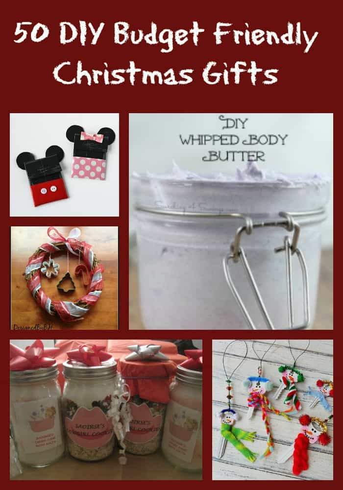 50 Budget Friendly DIY Homemade Gifts - Midlife Healthy Living