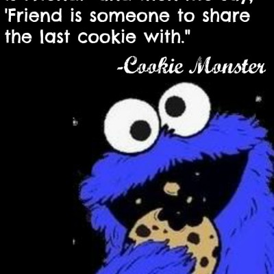 Muppets Quote From Cookie Monster
