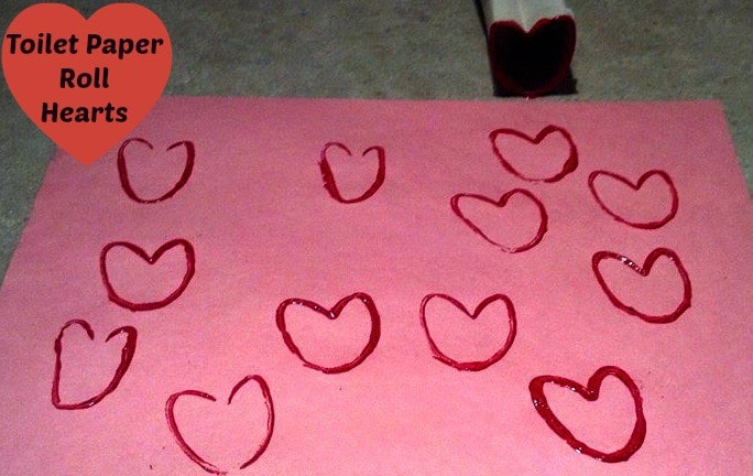 Toilet Paper Roll Hearts