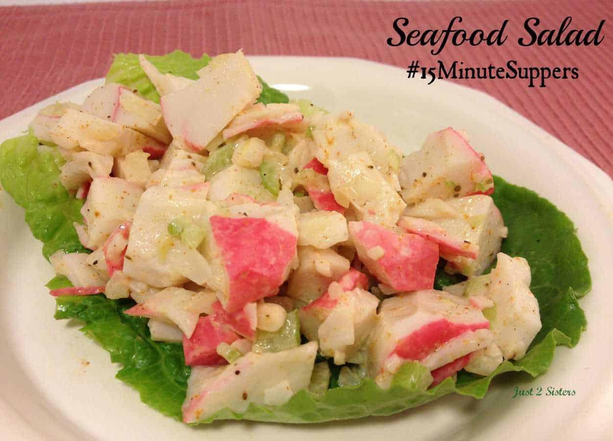 recipe: healthy seafood salad [33]