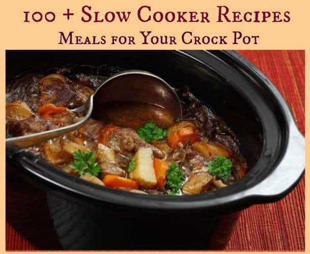100 + Crockpot recipes