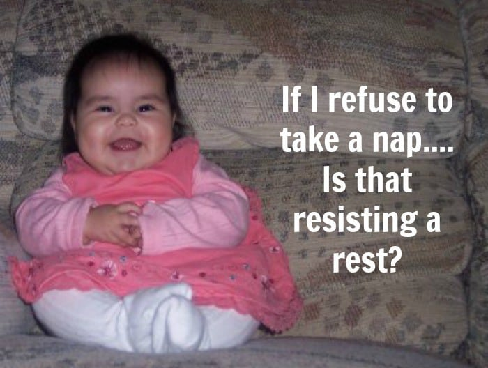 Kids Quotes Not napping