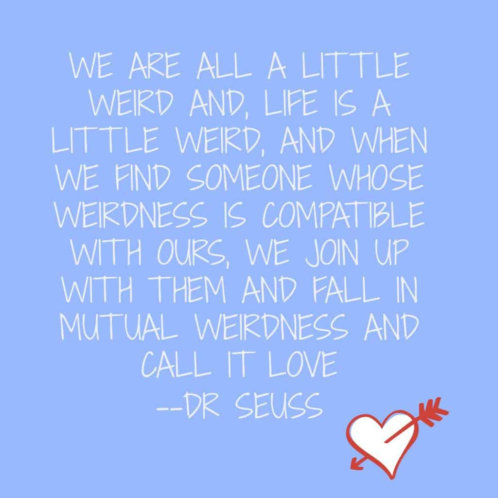 Dr suess marriage quote