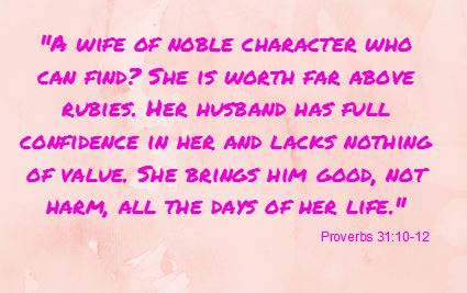 Proverbs Marriage Quote