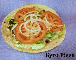 Gyro Pizza Recipe #15MinuteSuppers