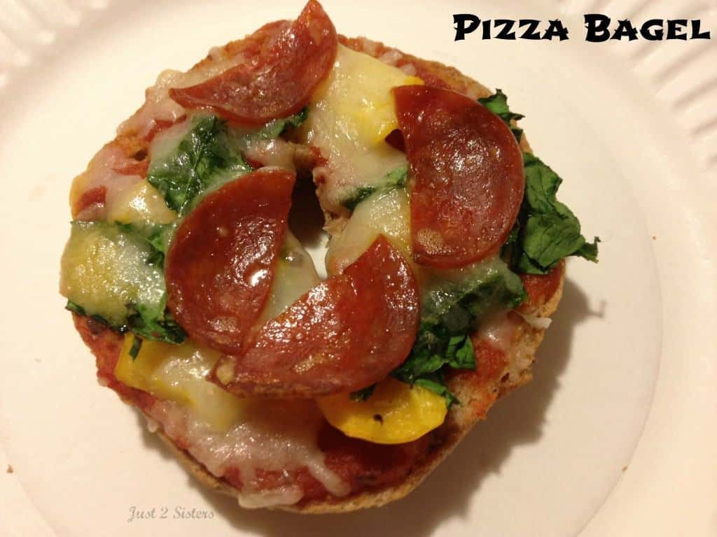 pizza bagel 2
