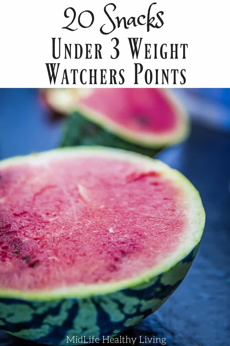 20 Weight Watchers Low Point Snacks - Under 3 Points!