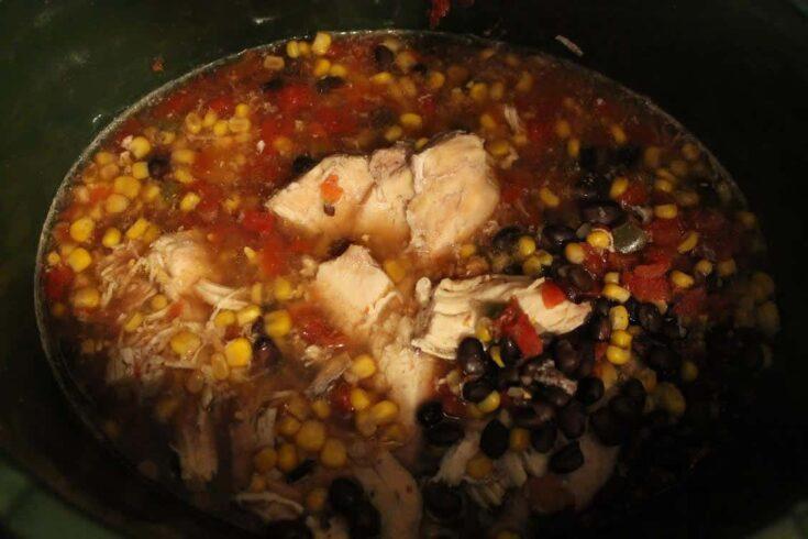 Crockpot Santa Fe Chicken
