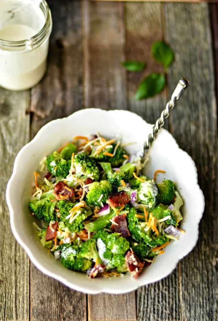 Broccoli Salad Recipe on the Light Side