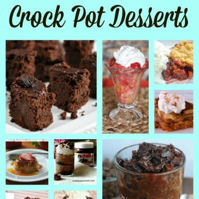 25 Amazing Crock Pot Desserts