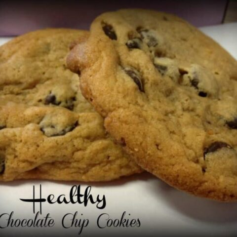 My Version Healthy Chocolate Chip Cookie Recipe