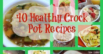 40 Healthy Crock Pot Recipes