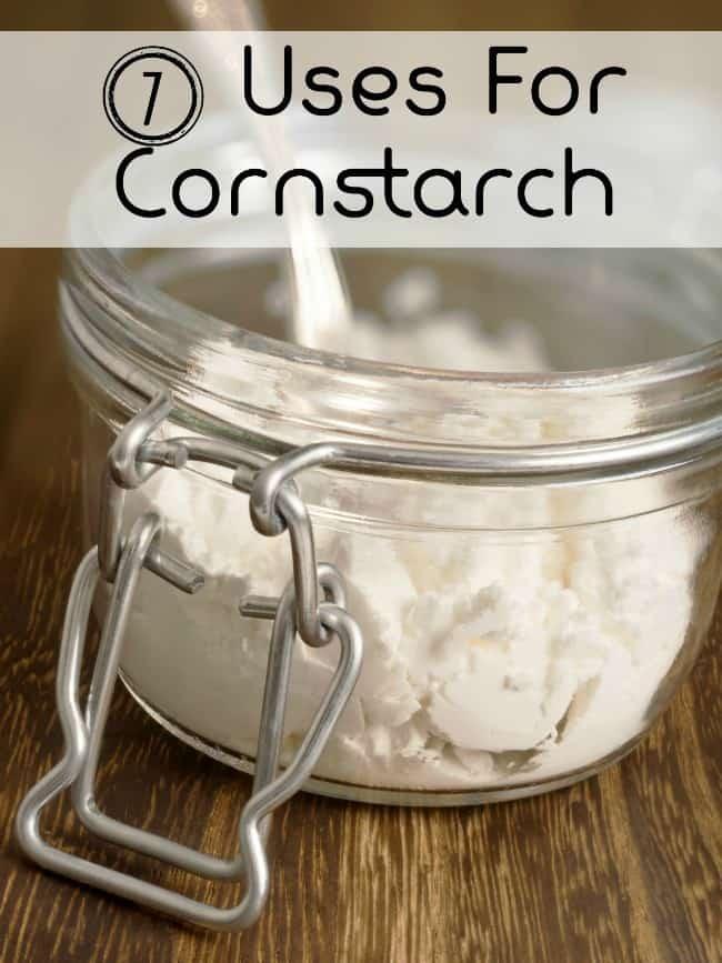 7 Unique Uses For Cornstarch