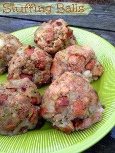 Stuffing Balls Recipe