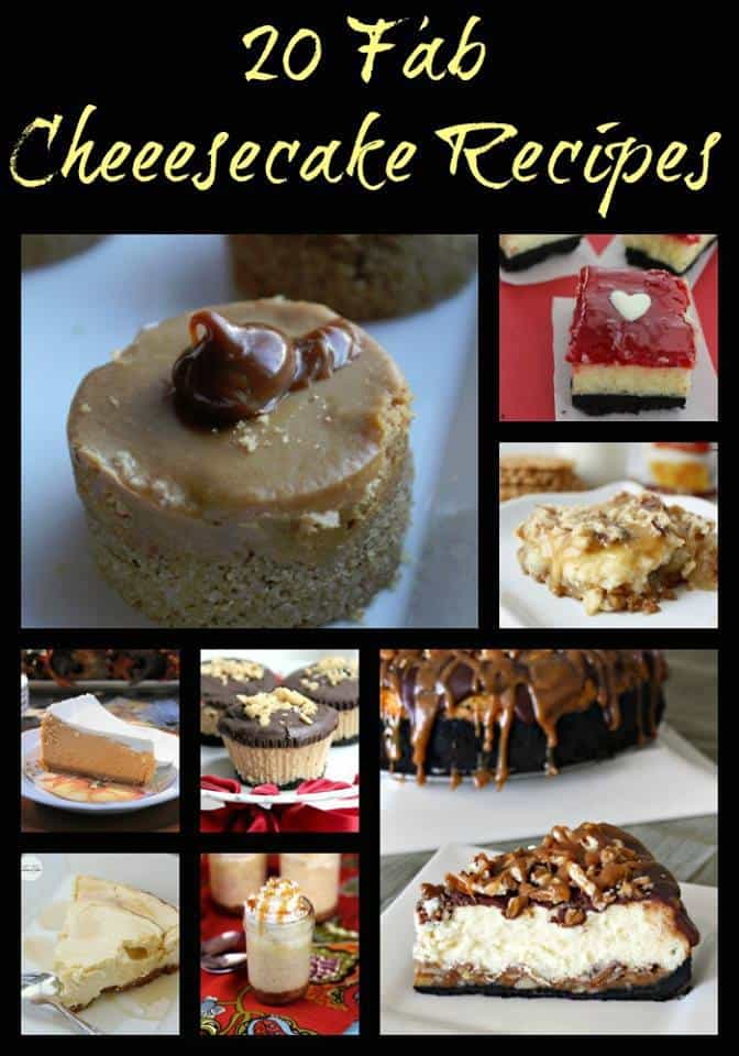 20 Fab Cheesecake Recipes