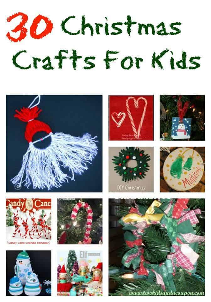 30 Christmas Crafts For Kids To Make