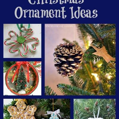 22 DIY Christmas Ornament Ideas