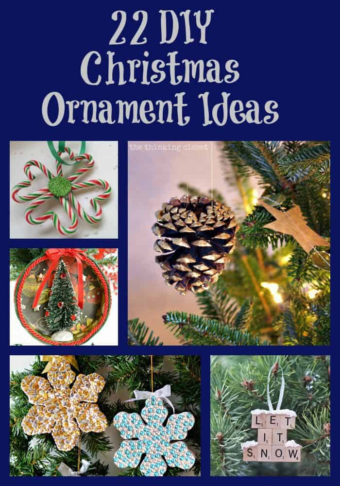 22 DIY Christmas Ornament Ideas