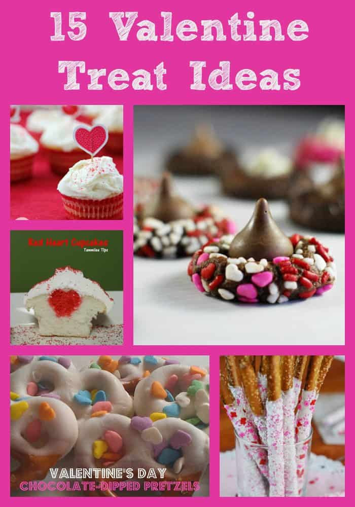 15 Valentine Treat Ideas