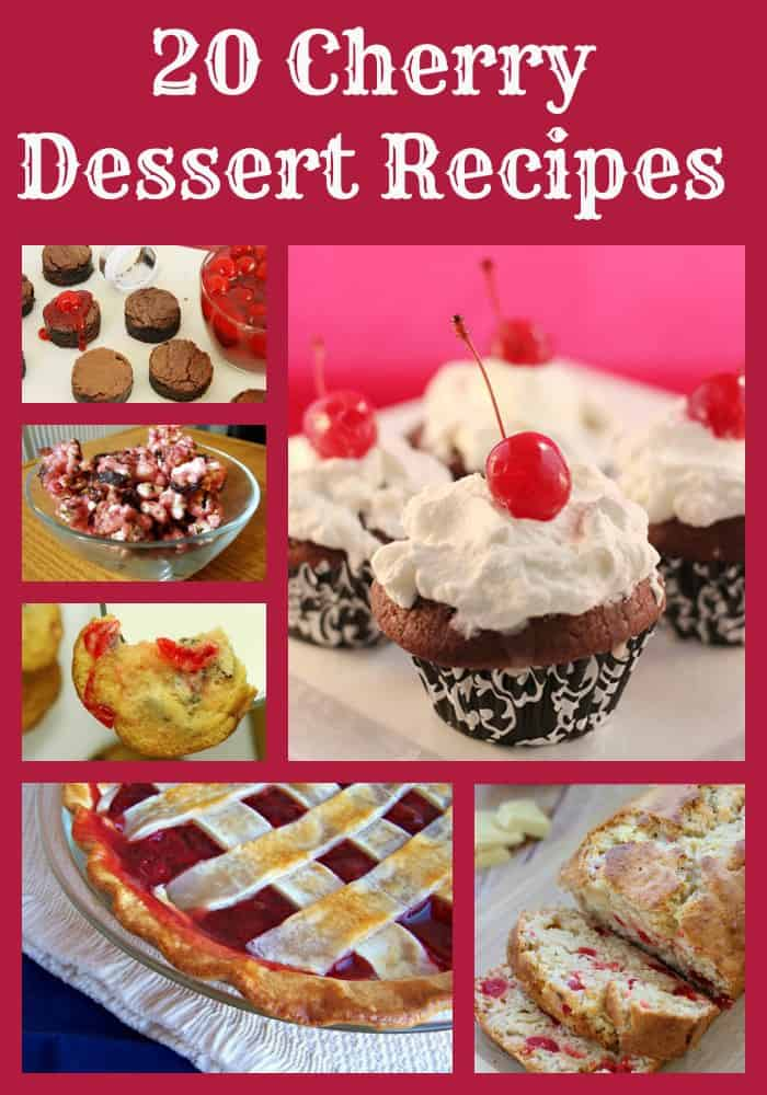 20 Cherry Dessert Recipes