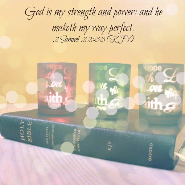God is my strength