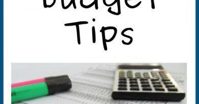 Frugal Living Budget Tips