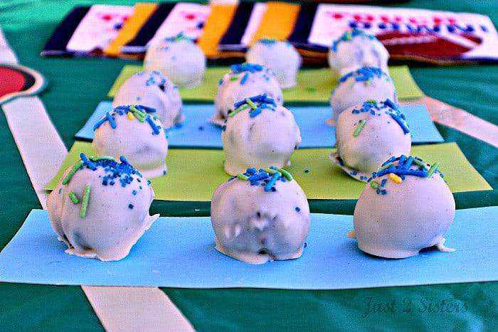 White OREO Cookie Balls
