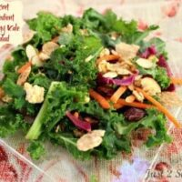 Secret Ingredient Crunchy Kale Salad Recipe