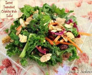 Secret Ingredient Crunchy Kale Salad Recipe