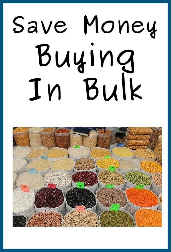 Save Money Buying In Bulk