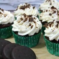 Thin Mint Cupcakes