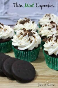 Thin Mint Cupcakes