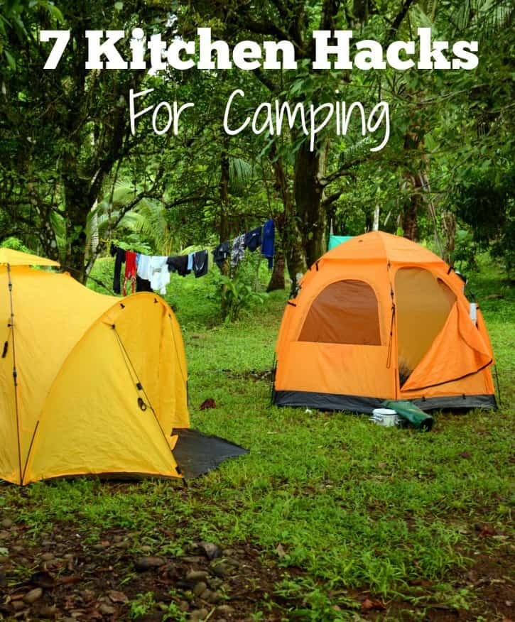 7 Kitchen Hacks For Camping