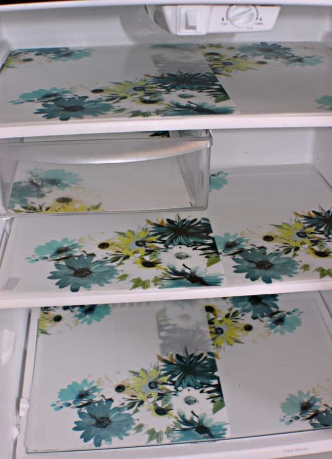 DIY Refrigerator mats final