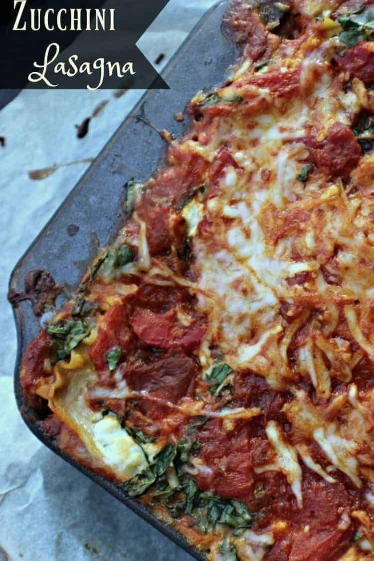 Enjoy this delicious zucchini lasagna as part of your healthy eating plan.