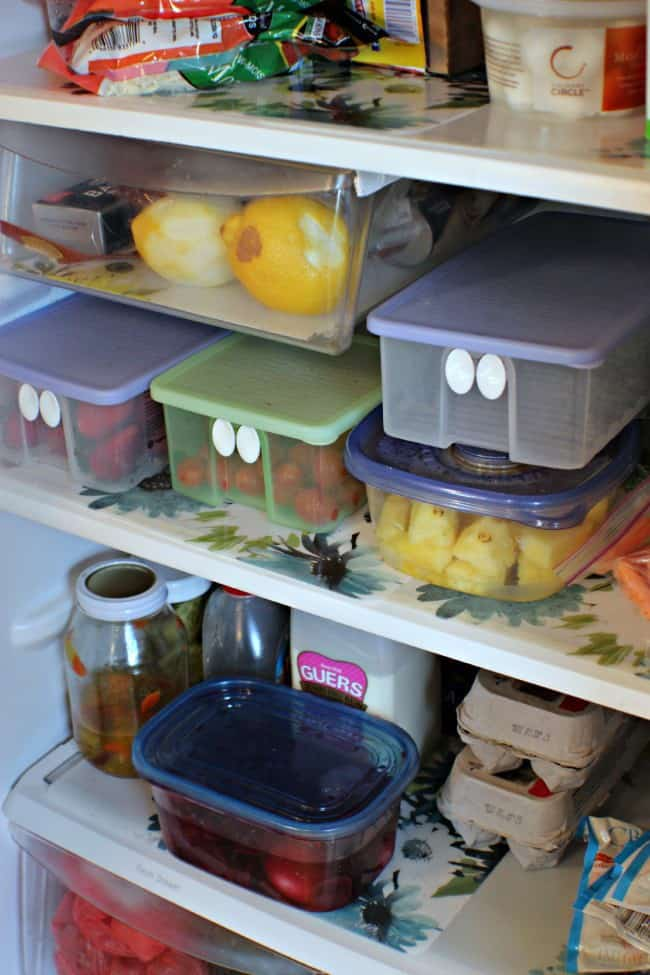 finished refrigerator