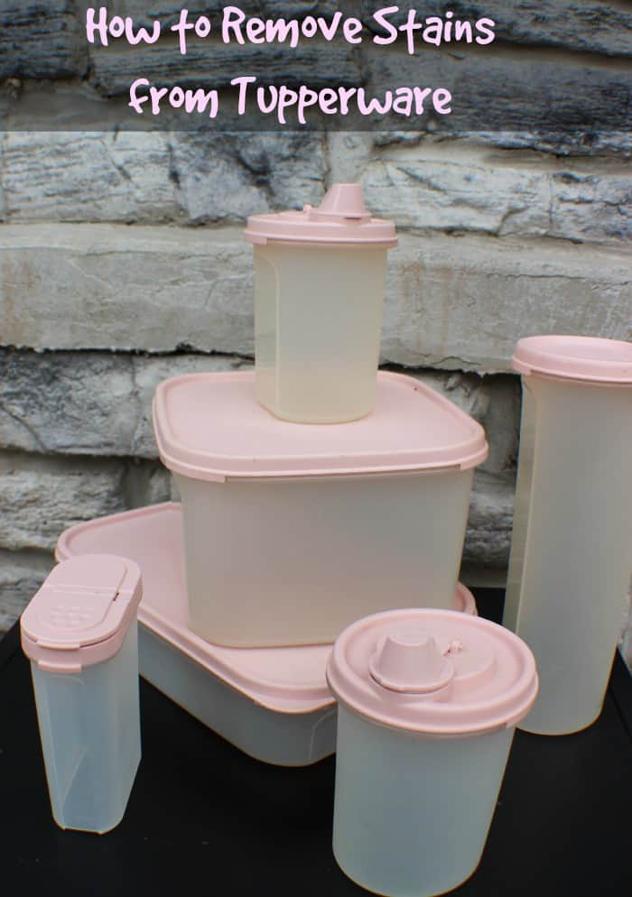 Removing stains from Tupperware is easier than you think. Try a few of these methods before you give up and get rid of your best Tupperware pieces.