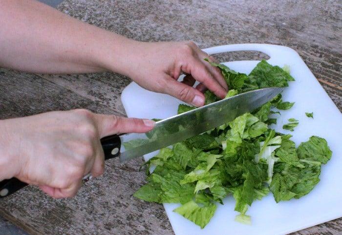 Caesar Salad Fries #SpringIntoFlavor
