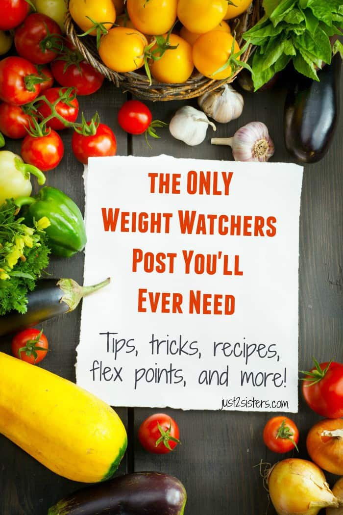 At the end of the day, remember it's all about moderation! Weight Watchers is a great program because it works