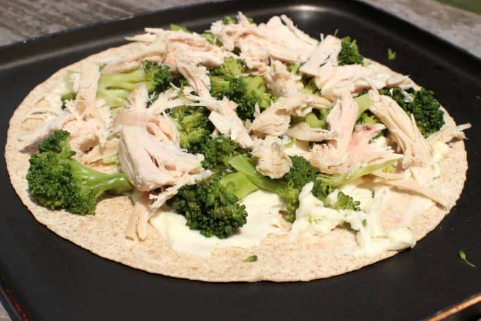 Add steamed broccoli and Shady Brook Turkey Breast