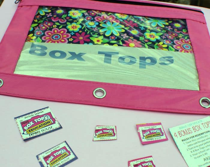 Box Tops Binder Pouch